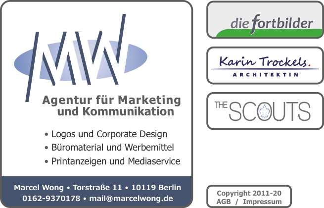 Marcel Wong Agentur Für Marketing Und Kommunikation Logo Design